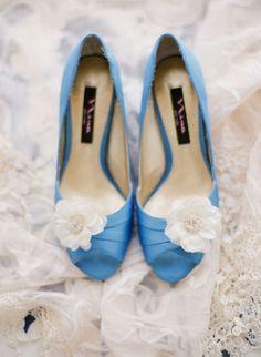 Something Blue #Zapatos de novia