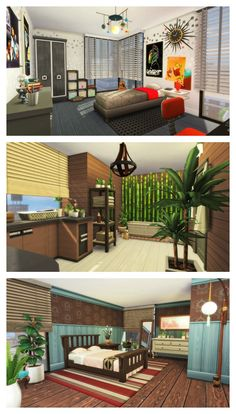 THE SIMS 4 SPEED BUILD - Eco Living Penthouse (Part 3/3)