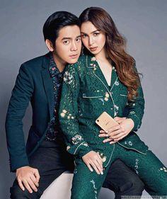 Male Fashion Trends: Joshua García y Julia Barretto posan juntos para Metro Filipinas