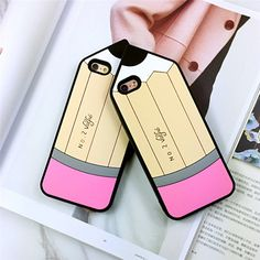 New 3D Cute Crayon Soft Silicone Back Rubber Cover Case For iPhone 6 S 6Plus #UnbrandedGeneric