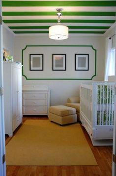 Modern Interior Design and Decor in Malachite Green Colors