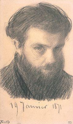 Henri Fantin-Latour (1836-1904) - Self Portrait, 1871