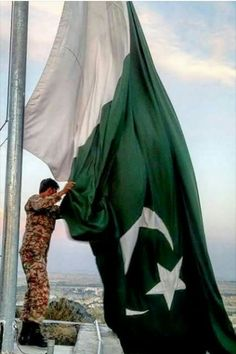 That is the Flag,creats fear in the heart of our Enemies.