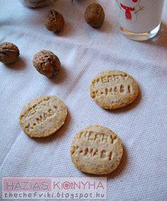 Házias konyha: Omlós diós keksz Iron Age, Cookies, Desserts, Recipes, Dios, Crack Crackers, Tailgate Desserts, Deserts, Biscuits