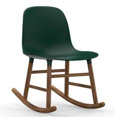 Form Rocking fauteuil Normann Copenhagen walnoot | Musthaves verzendt gratis
