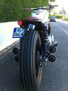 BF Motorcycles - BOBBER FUCKER - Fucker #11 - HONDA CB650C