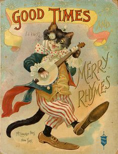 "books0977:  Good Times and Merry Rhymes. Banner Series. McLoughlin Bros, New York, ca. 1880.   ""Make haste, mother birdie, make haste,To you..."