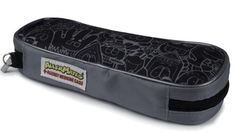 AllerMates EpiPen & Allergy Medicine Carrying Case: Black/Gray Pattern