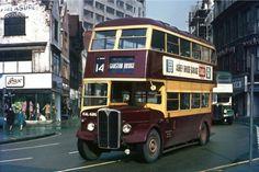 Nottingham/West Bridgford AEC Regent KAL686 Bus Photo | eBay