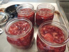 Check out our blog on canning: Making Homemade Strawberry Preserves...Easy at www.carolynwestbrookhome.blogspot.com