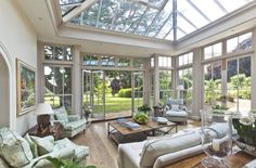 Jardins de Inverno clássicos por Vale Garden Houses
