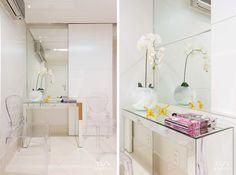 imagens flores orquídeas sala de espera consultório