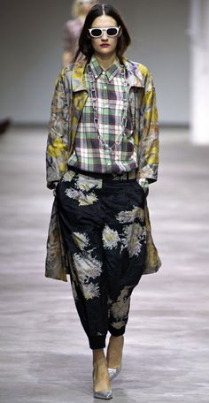 Shenae Grimes Dries Van Noten 2013 Spring Collection