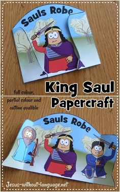 King Saul and David craft
