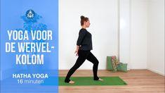 Yoga voor de wervelkolom Yoga Gym, Anti Stress, Tai Chi, Pilates, Buddha, Workout, Mindfulness, Youtube, Sports