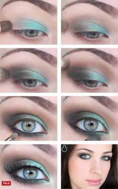 How to Do Prom Makeup for Blue Eyes | Prom Makeup Inspiration by Makeup Tutorials at http://www.makeuptutorials.com/makeup-tutorial-12-makeup-for-blue-eyes