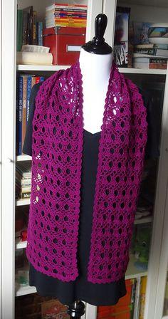 Ravelry: Project Gallery for 210-18 Organic Stole pattern by Pierrot (Gosyo Co., Ltd)