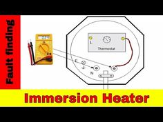How to fix broken immersion heater. Electrical fault finding. - YouTube