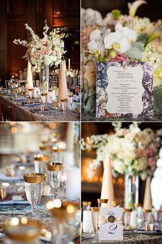 Reception details Julia Morgan Ballroom Wedding