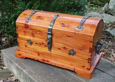 Missouri Red Cedar Chest by Pat McCarty - John C. Campbell Folk School