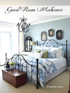 housepitality designs Guest Room Makeover Reveal http://www.housepitalitydesigns.com/2015/03/30/guest-room-makeover-reveal/ via bHome https://bhome.us