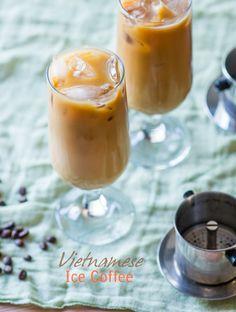 Easy Vietnamese Iced Coffee