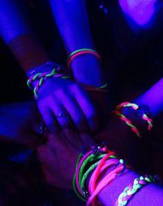 Festival essentials neon Brappz bracelets Festival Essentials, Summer Fun, The Darkest, Glow, Fashion Accessories, Festivals, Bracelets, Bracelet, Concerts
