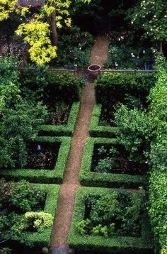 Boxwood Garden by Nigel Slater Boxwood Garden, Potager Garden, Garden Landscaping, Love Garden, Dream Garden, Garden Art, Formal Gardens, Small Gardens, Outdoor Gardens