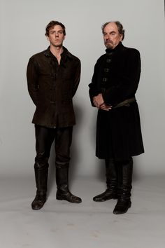 Joe Armstrong (as Henry 'Hotspur' Percy) and Alun Armstrong (as Lord Percy) in The Hollow Crown: Henry IV, Part 1