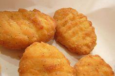 Des nuggets de poulet maison testé : délicieux!! mais pas en boules, en lanières, frits à la poêle