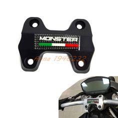 Motorcycle Handlebar Clamp Bracket Upper For Ducati  Monster 821 DARK  2014 2015 2016 Motocross Enduro Supermoto Dirt Bike #Affiliate