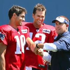 Jimmy and Tom...2 of the hottest QB's in the NFL on the same team!