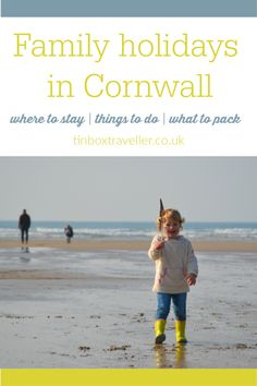Everything you need to know when planning family holidays in Cornwall: where to stay, things to do, dog-friendly places, beaches & what to do when it rains! Days Out With Kids, Family Days Out, Travel With Kids, Family Travel, Camping Cornwall, Holidays In Cornwall, Uk Holidays, Family Destinations, Family Holiday