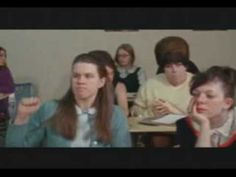 """Dawn Davenport (Divine) in John Waters' Female Trouble: """"Dawn Davenport is eating a meatball sandwich right out in class!"""" John Waters, Meatball, Role Models, Dawn, Sandwiches, Politics, Female, Youtube, Templates"""