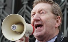 Len McCluskey, the Unite boss, says that Ed Miliband's flagship manifesto   commitments are 'our policies'