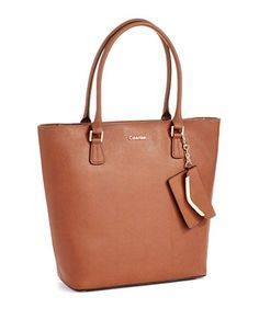 CALVIN KLEIN Tow-Piece Tote and Coin Purse