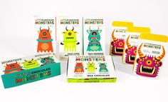 Little Chocolate Monsters (Student Project) on Packaging of the World - Creative Package Design Gallery