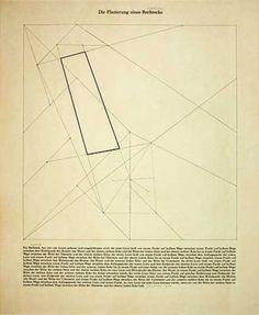 Sol Le Witt, Plazierung eines Vierecks