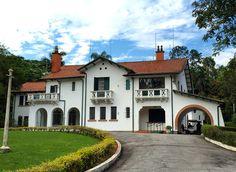 Governor's summer house at Horto Florestal - Sao Paulo, Brazil