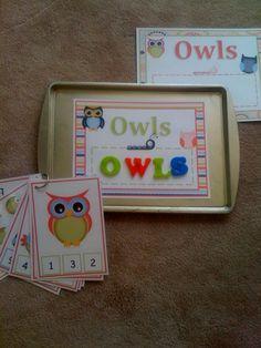 Preschool Printables: Owl