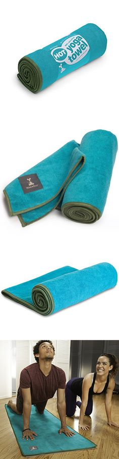 YogaRat Hot Yoga Towel: 100% Microfiber - 600 gsm Ultra Thick / Ultra Absorbent - Ideal for Bikram and Hot Yoga - Yoga Mat Size and Hand Size Towels Available