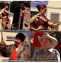 Undercover:  Buck and Wanda
