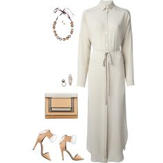 """""""DUSAN shirt-dress with Pierre Hardy"""" by riquee on Polyvore"""