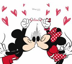disney valentines day mickey and minnie