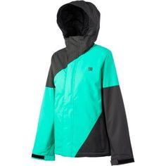 DC Fuse 13 Jacket - Women's Shadow/Arcadia/Shadow, XS by DC. $105.00. Standard Fit - A classic fit designed to feel good in any environment and make you look good even of. Insulated Lining - Poly insulation 80 g. Waist Gaiter - Designed for apr�s riding by snapping to the inside of the jacket to stow away. Taffeta printed lining. 100% Polyester Micro Twill Midweight. Drop bombs in the park in the DC Fuse 13 Women's Snowboard Jacket. The durable midweight twill f...