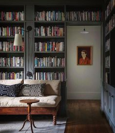 Mason Homes, Seattle Homes, Home Libraries, Built In Cabinets, Mid Century House, Beautiful Kitchens, Home Living Room, Interior Design Living Room, Bookcase