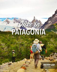 Bucket list: Hike in Patagonia