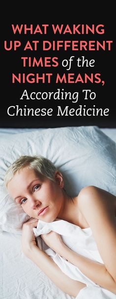 What Waking Up At Different Times Of The Night Means, According To Chinese Medicine