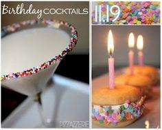 What a cute idea for a kids party milk margarita