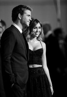 The Last Song; Miley Cyrus and Liam Hemsworth